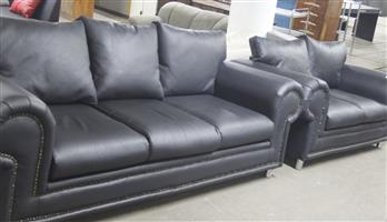 2 piece couch with ottoman S037354A #Rosettenvillepawnshop