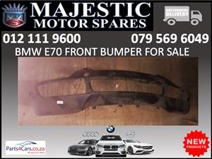 Bmw E70 front bumper for sale