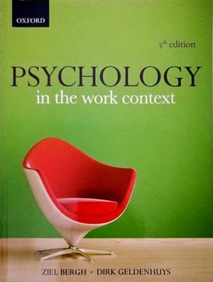 STUDY TEXT BOOKS: PSYCHOLOGY, LABOUR LAW :