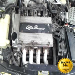 ALFA ROMEO AR32301 / AR32310 / AR67 202 ENGINES USED