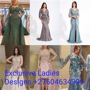EXCLUSIVE LADIES DESIGNS; +27604634399