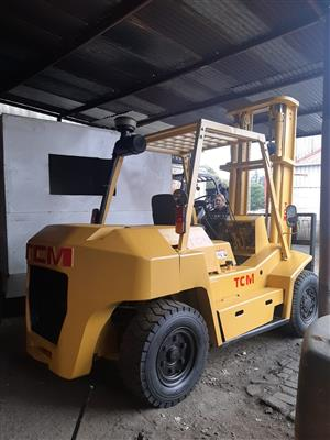 TCM FORKLIFT FOR SALE - 7 TON