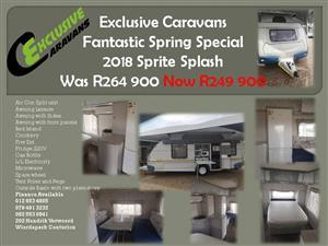 Spring Specials Jurgens Sprite Caravans