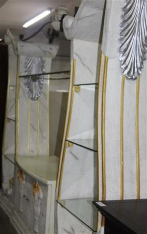 3 piece wall unit S033691B #Rosettenvillepawnshop