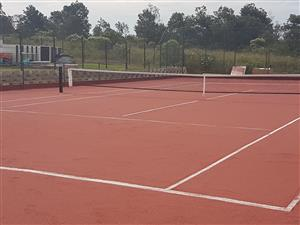 Sports Courts Resurfacing; Tennis Court Construction; Cricket Nets; Astro Soccer