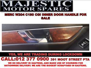 Mercedes benz c180 cgi door handles for sale used