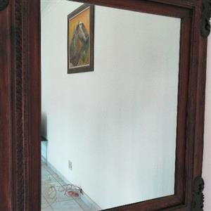imported Indonesian mirror