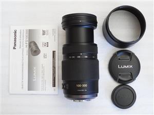 Panasonic Lumix G Vario 100-300mm f/4-5.6 Power OIS Lens UNUSED DEMO UNIT