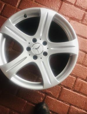 """CLS AMG Rims for sale 17"""""""