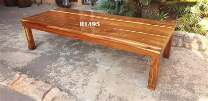 Big Teak Coffee Table (1800x750x445)