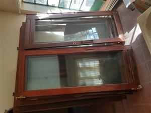 Wooden foldup doors
