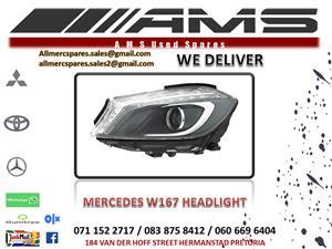 MERCEDES W167 HEADLIGHT