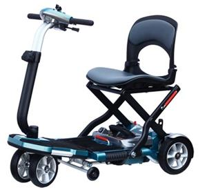 MR WHEELCHAIR S19 BRIO ONE HANDED FOLD TRAVEL