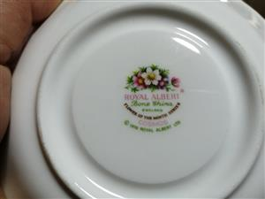 Royal Albert Flower of the month complete tea set