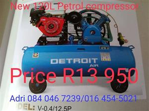 Detroit petrol compressor for sale