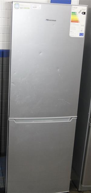 Silver hisense fridge S037562A #Rosettenvillepawnshop