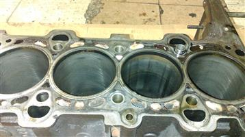 BMW E46 320d Bare Block