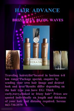 Traveling Hairstylist