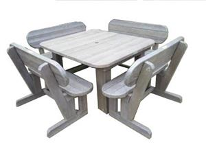Recyceld Plastic Outdoor Garden,Lapa and Patio Furniture