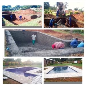 Swimming pools construction and repairs