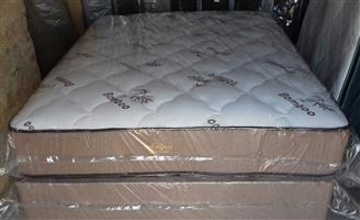 Posture Perfect Bamboo Queen Mattress and Base Set