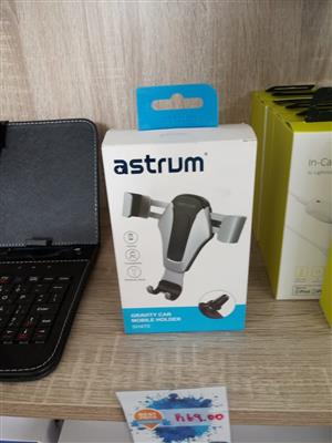 BEST SELLER: ASTRUM SH470 GRAVITY CAR MOBILE HOLDER - AIR VENT MOUNT