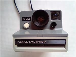 Polaroid Photo Camera. For instant photos.