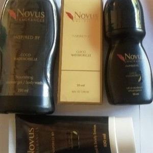 Novus perfumes and fragrances