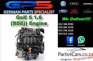 VW Golf 5 1.6 (BSE) Engine for Sale