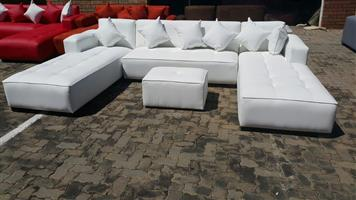 U-SHAPE DAYBEDS,3.2m X 2m X 2m  R8400 ONLY,CHOOSE YOUR FABRIC AND COLOUR