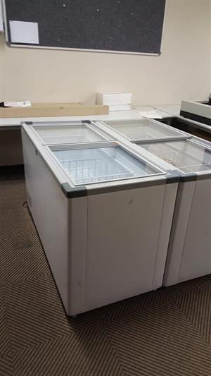 Selling two 520 litre display Fridges