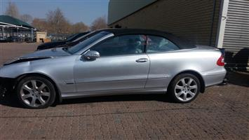 Mercedes-Benz CLK-500 Cabriolet Parts For Sale