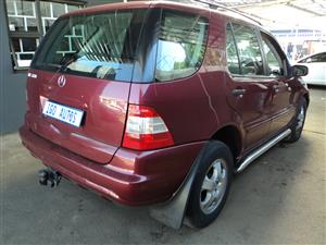 2002 Mercedes Benz ML 320CDI