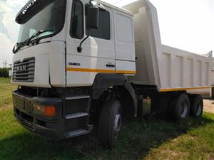 MAN F200 MODEL 2000 WITH NEW 10 CUBE BIN & TYRES