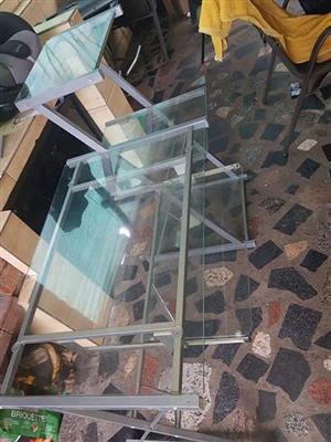 Glass computer/ study desk for sale