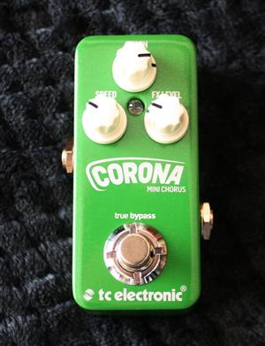 TC Electronics Corona Chorus Mini - Guitar Effects Pedal