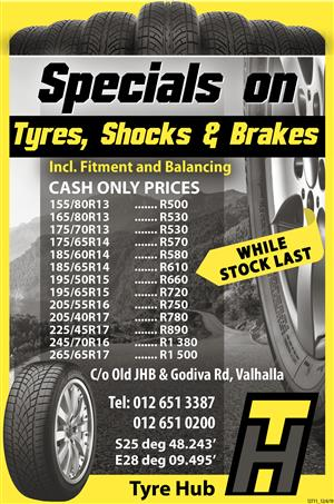 Tyre and Rim SALE