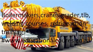 WELDING COURSES.BOILERMAKER. PLANT MACHINERY, GRADER, CRANES, DUMP TRUCKS, @0791658112. BOILERMAKER.