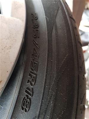 18inch Tyres