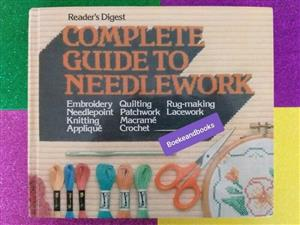 Complete Guide To Needlework - Reader's Digest., used for sale  Johannesburg - East Rand