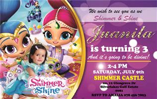 Kids Party Invitations and Graphics