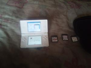 hi selling my ds with 4 games no charger