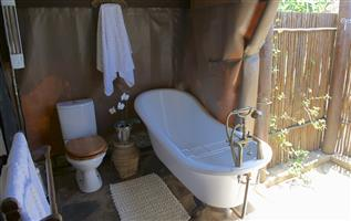 TENTCO BATHROOM SECTION