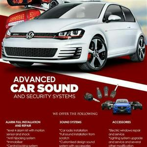 Car arlams and sound systems