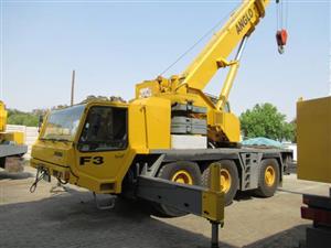 Faun ATF50-3, 50 Ton Mobile Crane