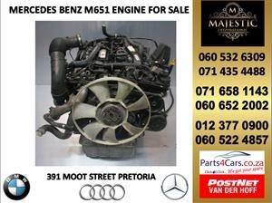 Mercedes benz M651 engine for sale