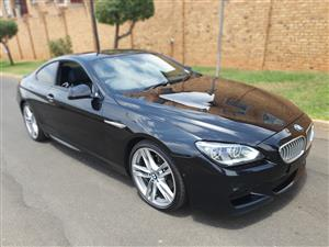 2014 BMW 6 Series coupe 650i COUPE M SPORT A/T (F13)