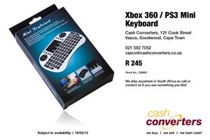 Xbox 360 / PS3 Mini Keyboard