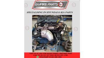 KI004 KIA CARNIVAL 2.5 (RIO) 2000 *ENGINE*