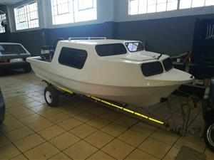 Cabin cruiser boat for sale(project) no papers